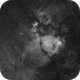 Cas  Impression - Part of The Heart - The Fishhead Nebula,                                G400