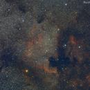 NGC 7000 and IC 5070 with 200mm lens.,                                Rodrigo Andolfato