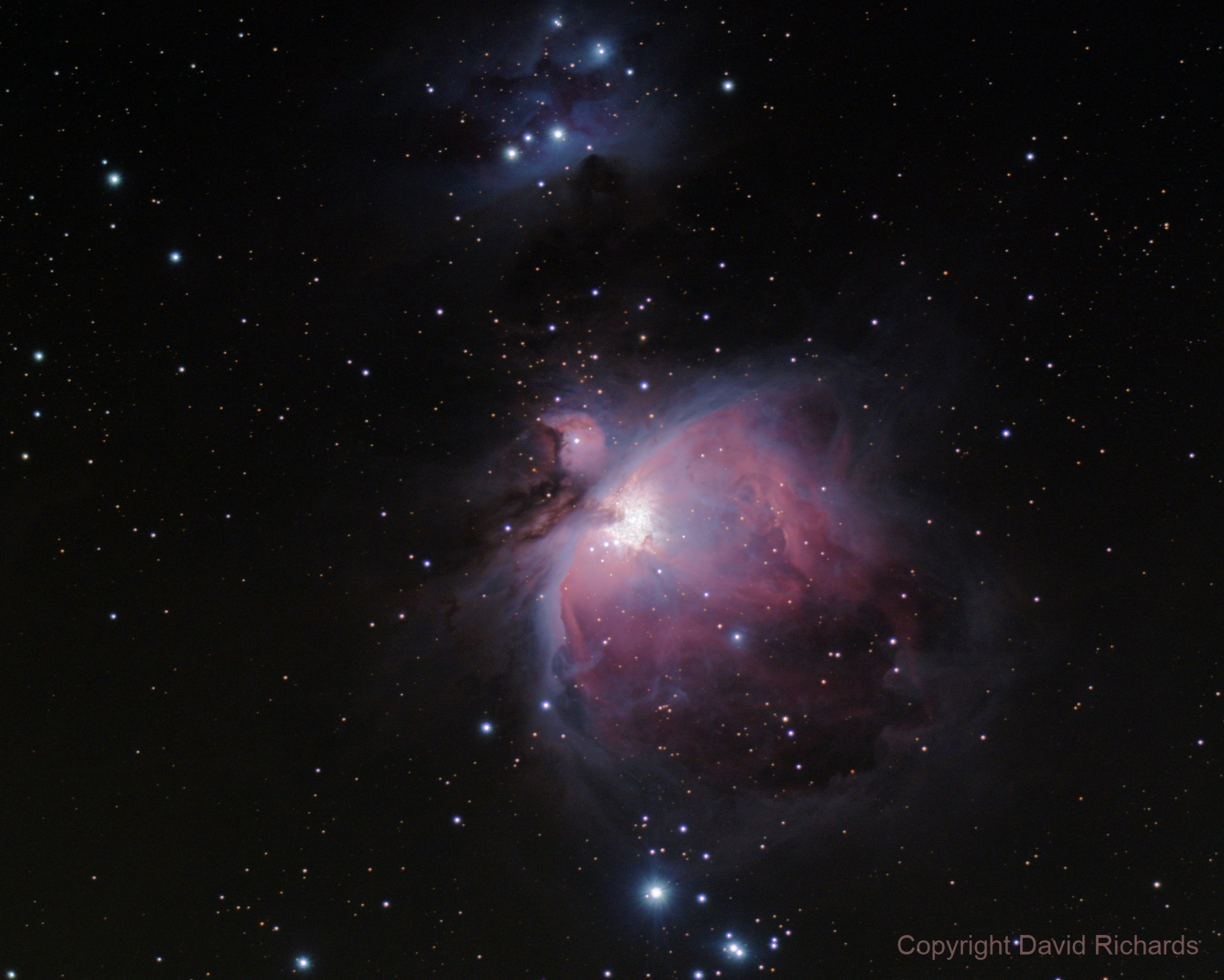M42/M43/NGC 1977 HDR (120s/60s/30s/10s/4s/2s stacks),                                turfpit