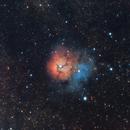 M20 - Trifid Nebula,                                Shawn