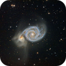 M51, L with CCD and color fusion,                                Luigi Fontana