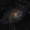 M33.- Pinwheel Galaxy.,                                Pablo Vozmediano.- AstroManchas