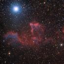 Gamma Cassiopeiae  - Y Cas - HaLRGB,                                Nik Coli