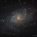 M33 Triangulum galaxy,                                PixelSkies (David...