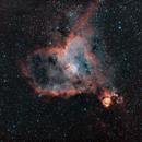 IC1805 - Heart Nebula - HOO,                                Jamie