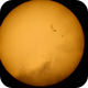 Solar Sunspots,                                Stephen Charnock