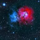 M20 - Triffid Nebula,                                Gordon Boytell