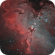 M16- The Eagle Nebula - Cropped Landscape frame,                                Andreas Eleftheriou
