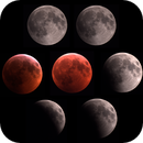 Sequence of Total Lunar Eclipse of 21-01-19,                                Ariel Cappelletti