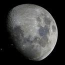 Illuminated ISS Lunar Transit,                                Dyno05