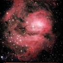 The Lagoon Nebula,                                AlBroxton