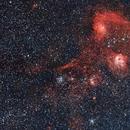 IC405, IC410 and companions,                                Santiago Giralt