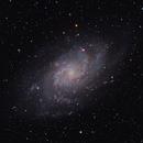 M33 - Triangulum Galaxy (Ha+LRGB),                                Jian Yuan Peng