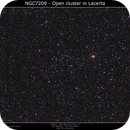 NGC 7209 - Open Cluster In Lacerta,                                Brice Blanc