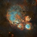 Cat's Paw nebula  NGC 6334,                                litobrit
