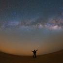 Milky way captured from one of the darkest skies in UAE,                                Prabhu S Kutti
