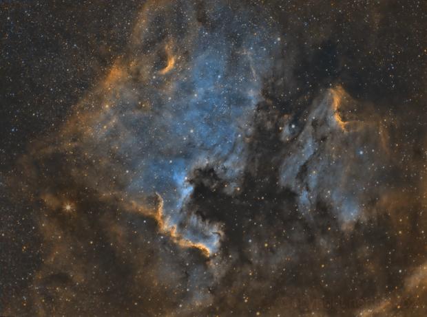 NGC 7000,                                John Leader
