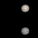 Jupiter with Io transit,                                Dominique Callant