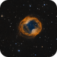Jones-Emberson 1 (PK 164 + 31.1) - The Headphone Nebula (Bicolor RGB),                                Frank Breslawski
