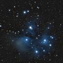 M45 The pleiades,                                Eric Horton
