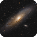 15 tiles mosaic of the Andromeda Galaxy,                                Marcel Nowaczyk