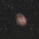 M1 Crab Nebula Ha (Lum) + OSC,                                Brandon Tackett