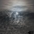 Full Moon through Clouds,                                Zach Coldebella