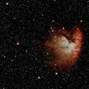 NGC281 nébuleuse PACMAN,                                Jacques CROIZIERS