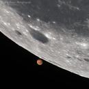 Mars occultation by Moon,                                Delberson
