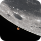 Mars occultation by Moon,                                Delberson