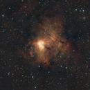 NGC 1491 - Fossil Footprint Nebula,                                pirx13