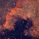 NGC 7000 North American Nebula (Cygnus Wall),                                Robert Browning