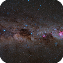 Crux and the Southern Milky Way,                                Wei-Hao Wang