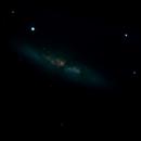 M82 Cigar Galaxy with IR Cut filter,                                MikeHuerto