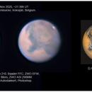 Mars, ZWO ASI290MM, 20201105,                                Geert Vandenbulcke