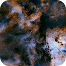 Eta Carinae Nebula  in SHO,                                Peter Brackenridge