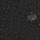 Crescent Nebula from Greece,                                Nikolaos Karamitsos