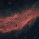 NGC 1499 - Premier essai en Ha(R)-R(Ha)VB / First try in Ha(R)-R(Ha)GB,                                Chris.Ma