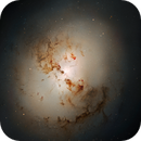 Some HST image closing 2020...(Part 1 :-))... Two revisions of NGC 1316 :-),                                Daniel Nobre