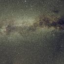 Milky Way with Jupiter and Saturn,                                Seldom