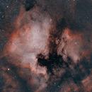 NGC 7000 & IC 5070 & Environs, HOO,                                Stephen Garretson