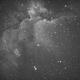 Wizard Nebula,                                minichate