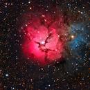 Trifid Nebula,                                Ron Machisen
