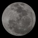 The Brightest Moon in 60 years @ 840 mm,                                Vencislav Krumov