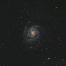 M101 - Galaxie du Moulinet - 10 et 11 Juin 2017,                                dsoulasphotographie