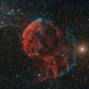 IC 443 Jerryfish nebula (HOS palette base),                                Toshiya Arai