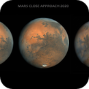 Mars 2020 close approach in collaboration with Damian Peach,                                chilescope