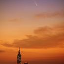 C/2020 F3 NEOWISE & Taipei 101,                                Mason Chen