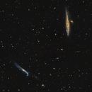 Whale and Crowbar Galaxies,                                Caleb Melton