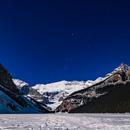 Orion Setting over Victoria Glacier,                                Alan Dyer